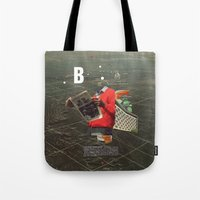 butterfly Tote Bags featuring Butterfly by Frank Moth