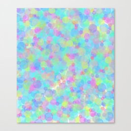 Colorful Time Canvas Print