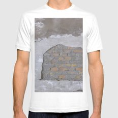 Brick House Mens Fitted Tee White MEDIUM