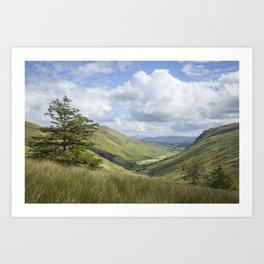Glengesh Pass Art Print