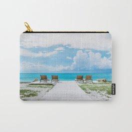 Sun Tan Carry-All Pouch