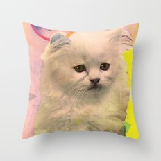 *meooooowmix* Throw Pillow