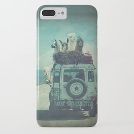 NEVER STOP EXPLORING II SOUTH AMERICA iPhone Case