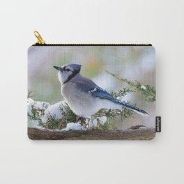 Look Skyward Blue Jay Carry-All Pouch