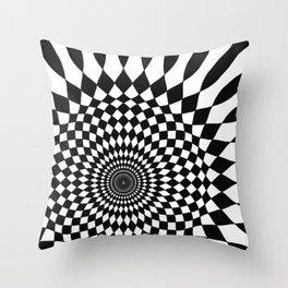 Wonderland Floor #5 Throw Pillow