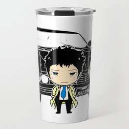 Team Supernatural Travel Mug