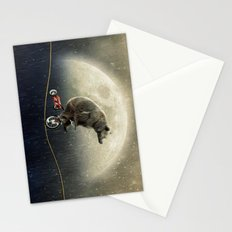 balancing act (under the weather) Stationery Cards