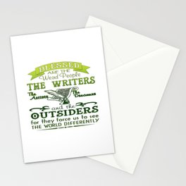 Writers, Artists, Dreamers Stationery Cards
