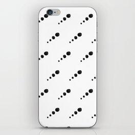 Cut Paper Polka Dot Planets iPhone Skin