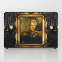 replaceface iPad Cases featuring Clint Eastwood - replaceface by replaceface