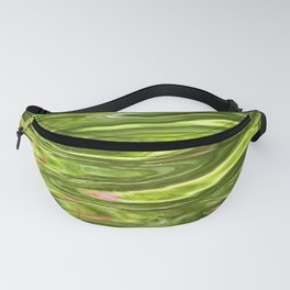 Water Motion Surface Reflections Abstract Texture Fanny Pack
