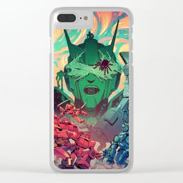Sins of the Fathers Clear iPhone Case