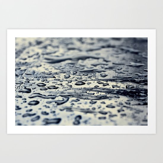 water blue Art Print