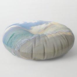 Beach #7 Floor Pillow