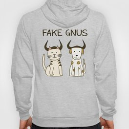 Fake Gnus: Cat & Dog Edition Hoody