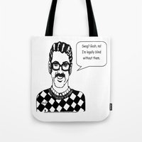 swag Tote Bags featuring Swag?  by Violetgrayveil