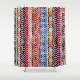 Bohemian Lace Shower Curtain