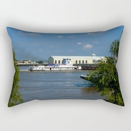 Heading Down River Rectangular Pillow