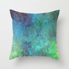 Colors of a fish Throw Pillow