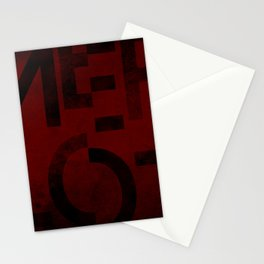 Merlot Wine Typography Stationery Cards