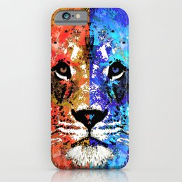 Lion Art - Majesty - Sharon Cummings iPhone Case