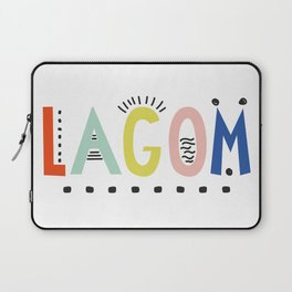 Lagom colors Laptop Sleeve