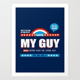 American Debate Art Print