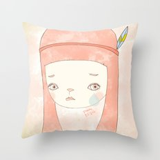 HATE YOU MISS YOU Throw Pillow