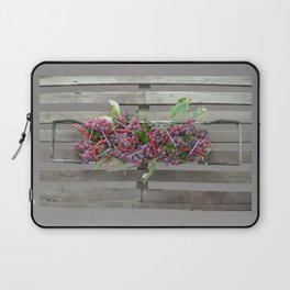 Chili, Grapes and Screws 01 Laptop Sleeve
