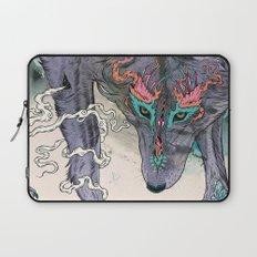 Journeying Spirit (wolf) Laptop Sleeve