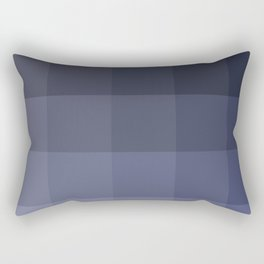Blue gradient Rectangular Pillow