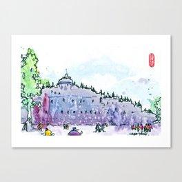 20160828-6 Borobudur Canvas Print