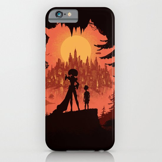 Traveling with the Queen iPhone & iPod Case