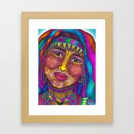 Wisdom Keeper Color #13 (Empathy) Framed Art Print