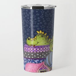 sleeping dino Travel Mug