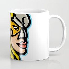 Valkyrie Warrior Mascot Coffee Mug