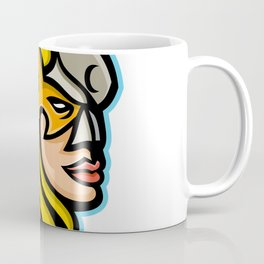 Valkyrie Warrior Mascot Coffee Mug
