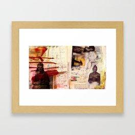 Open Arms Framed Art Print