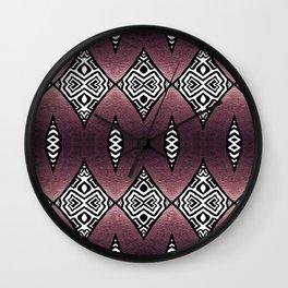 Purple Shimmer Wall Clock