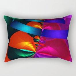 a fractal colormix Rectangular Pillow