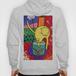 Cat with Red Fish- Henri Matisse Hoody