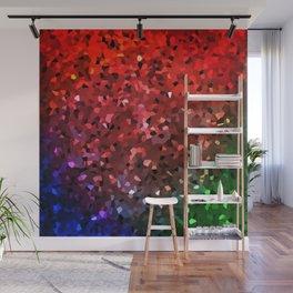 Crystals Shimmering Wall Mural