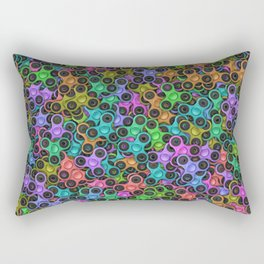 Fidget spinners Rectangular Pillow