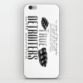 True Detroiters iPhone Skin