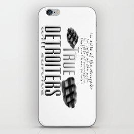 True Detroiters iPhone Skin
