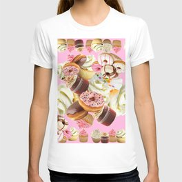 PINK & VANILLA PASTY INDULGENCE ART T-shirt