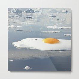 Egg-berg - Sunny side up Metal Print