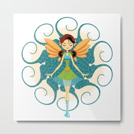 Fairy Doll Metal Print