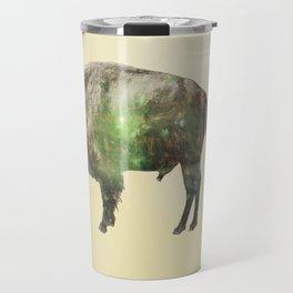 Surreal Buffalo Travel Mug
