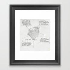 Hairpin Box Framed Art Print